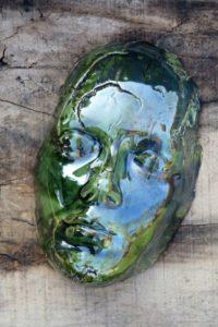 maska zielona