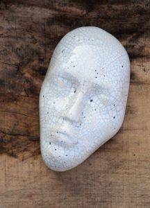 maska biała