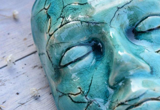 maska lazurowa