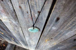 naszyjnik zielony