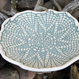 Dekorative Platte