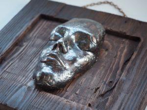 kulta-miedz-dekoracyjna-maska